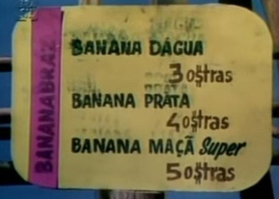 Banana prá você!